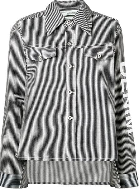 Off White Striped denim jacket