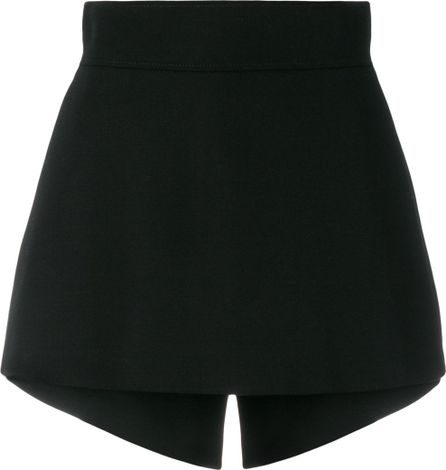 Stella McCartney Layered skirt-shorts