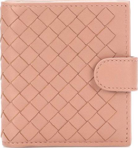 Bottega Veneta Intrecciato compact leather wallet