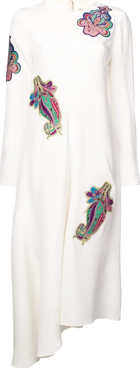 Tibi Embroidered squid dress