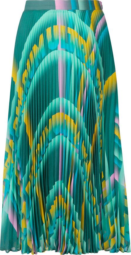 Marco De Vincenzo Patterned A-line skirt