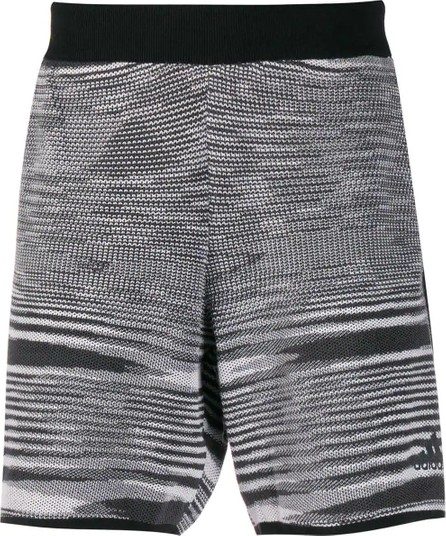 Adidas ADIDAS X MISSONI black and white SUPERNOVA SATURDAY SHORTS