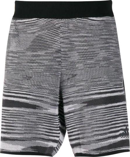 Adidas ADIDAS X MISSONI black and white SUPERNOVA SATURDAY SHORTS