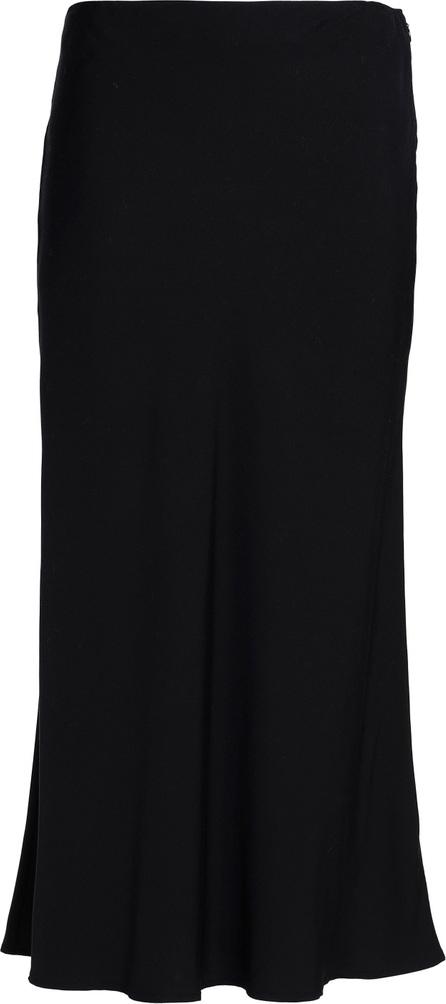 James Perse Modal-blend midi skirt