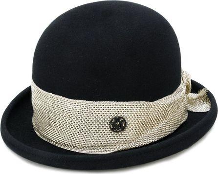 Maison Michel contrast layer hat