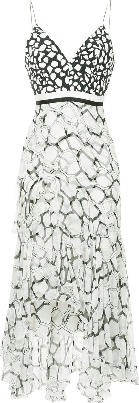 Alex Perry Zoe ruffle dress