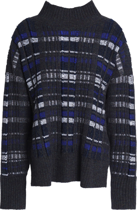 3.1 Phillip Lim Checked jacquard-knit sweater