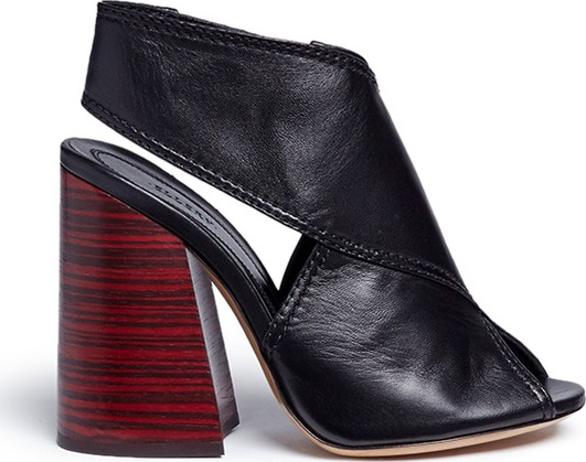 ea9258e41be Ellery  Winston  slingback leather sandals - Mkt