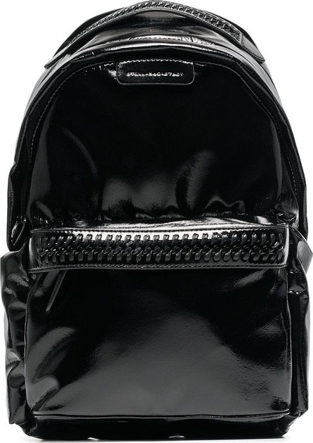 Stella McCartney faux patent leather Falabella  backpack