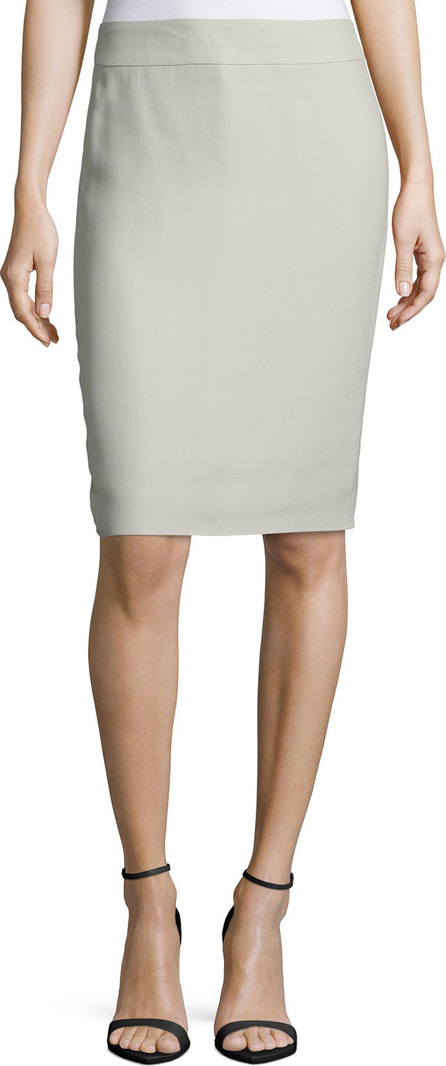 Armani Collezioni Techno Cady Pencil Skirt