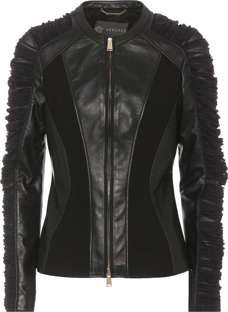 Versace - Leather jacket