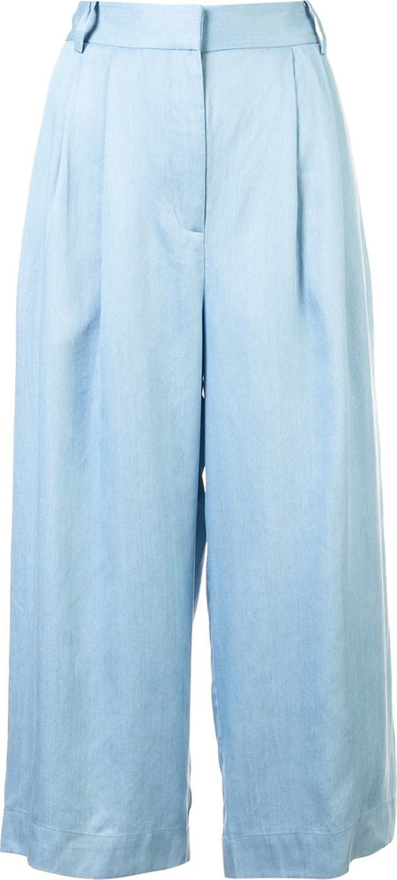 Tibi Cropped pleated trousers