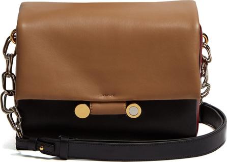 Marni Cady leather cross-body bag
