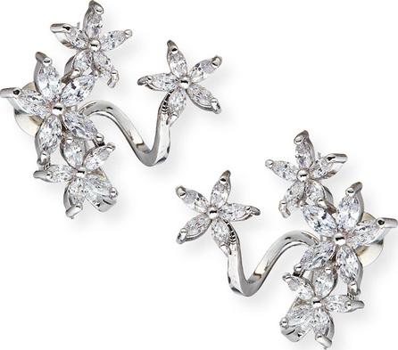 Fallon Double-Vine Cuff Earrings