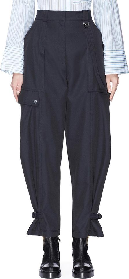 3.1 Phillip Lim Buckled cuff twill utility cargo pants