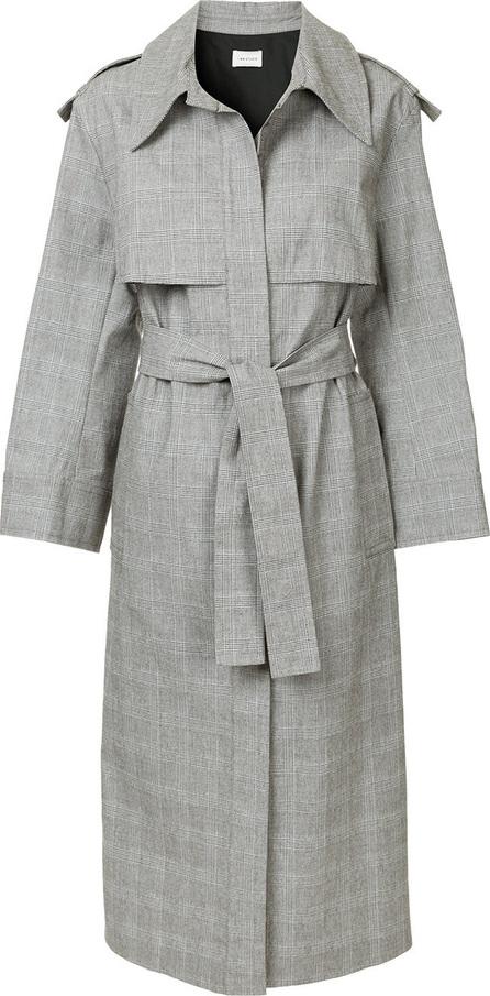 I Am Studio Checked trench coat