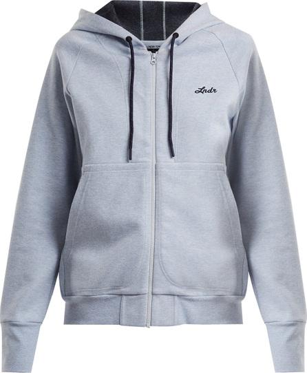 Synergy cotton-blend hooded sweatshirt