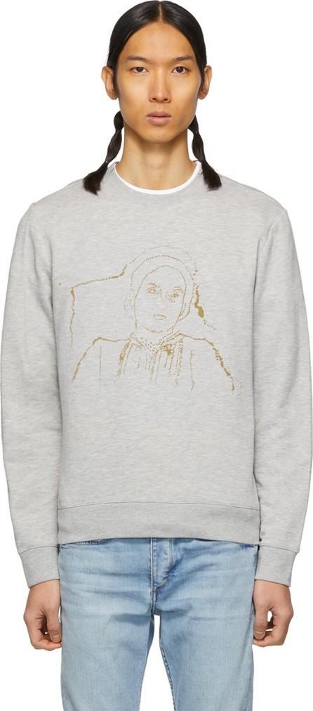 A.P.C. Grey 'La Mamma' Sweatshirt