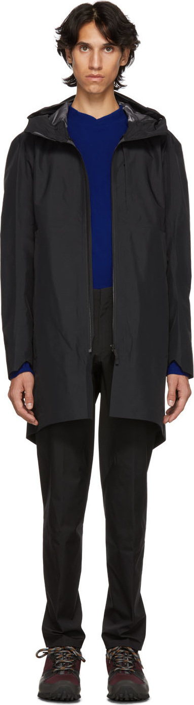 Arc'teryx Veilance Black Monitor Coat