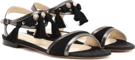 Etro Leather and suede sandals