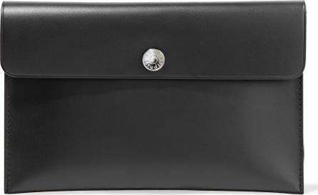 Acne Studios Zirconia leather clutch