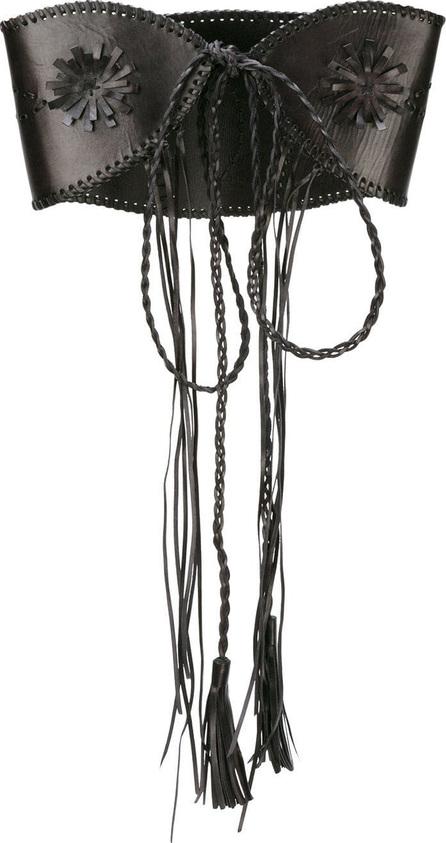 Alberta Ferretti Wide braided belt
