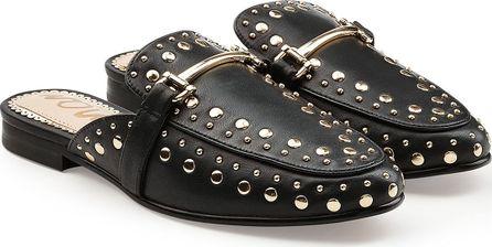 Sam Edelman Embellished Leather Slip-On Loafers