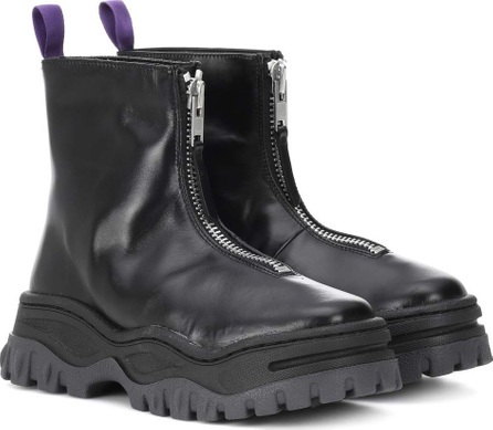 Eytys Raven platform leather ankle boots