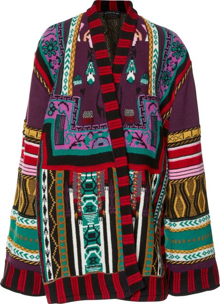 Etro Wool-Blend Cape Jacket