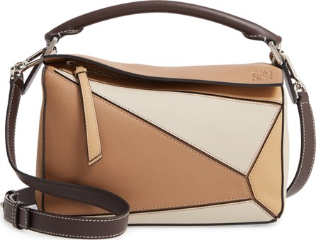 LOEWE Small Puzzle Calfskin Leather Bag