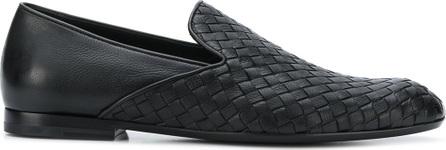 Bottega Veneta Intrecciato woven loafers