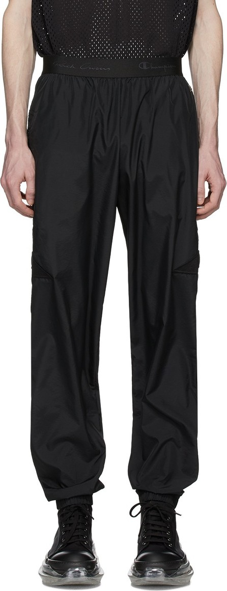 Rick Owens Black Champion Edition Light Lounge Pants