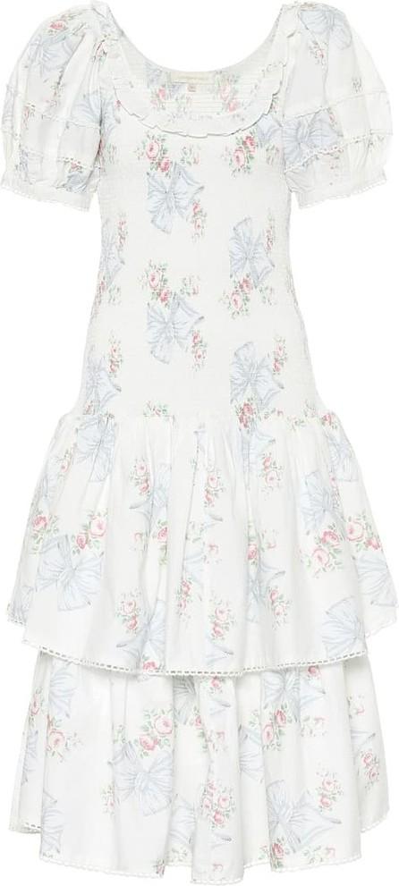 LOVESHACKFANCY Floral cotton dress