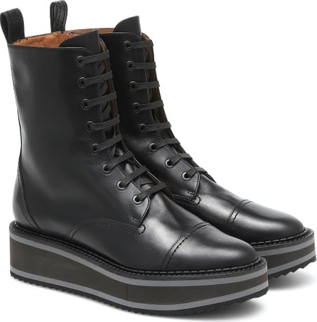 Robert Clergerie British leather ankle boots