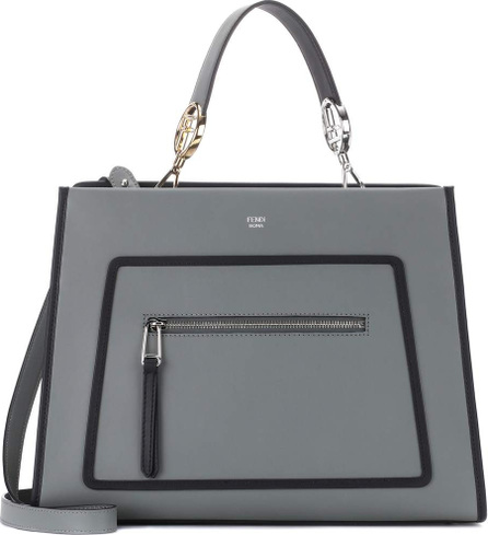Fendi Runaway leather tote