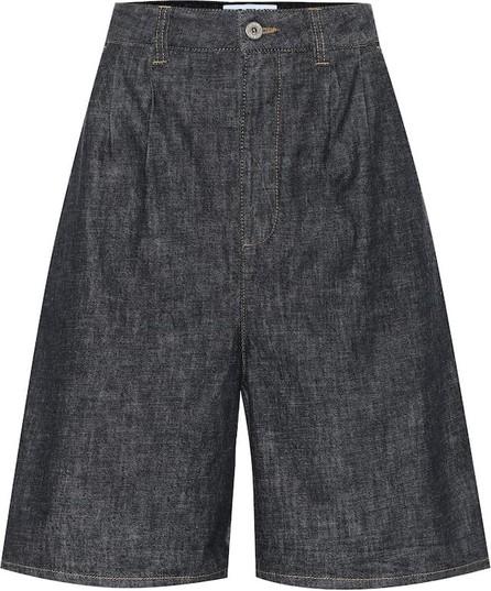 LOEWE High-rise denim shorts