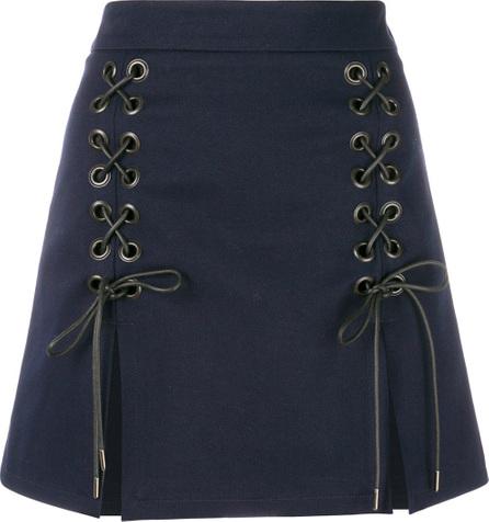 Alexa Chung Lace front mini skirt