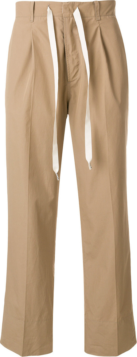 Federico Curradi Straight leg trousers