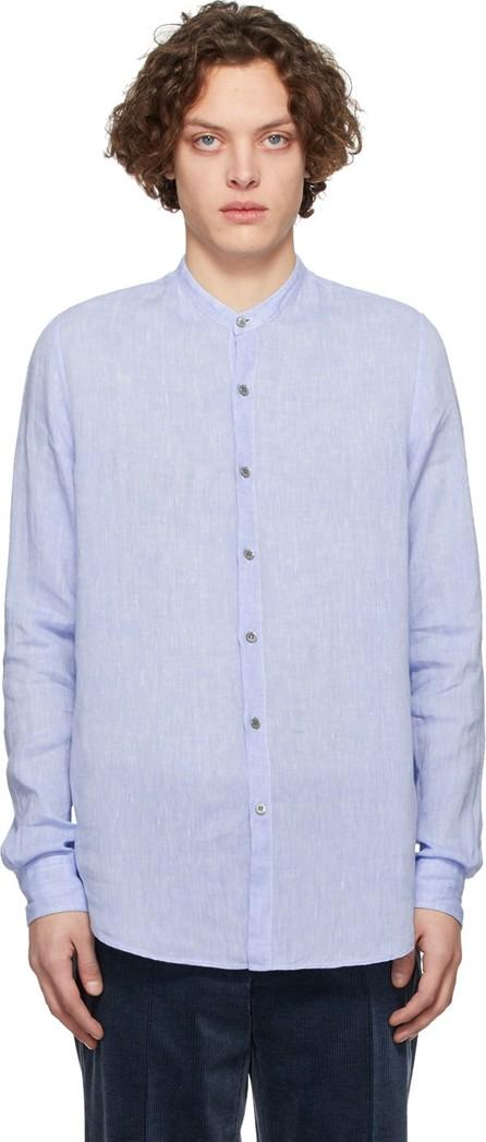 Giorgio Armani Blue Linen Shirt