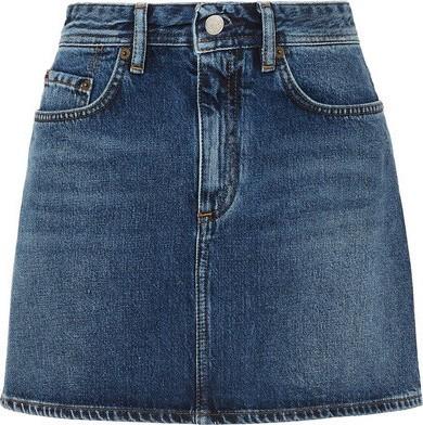 Acne Studios Mini Denim skirt