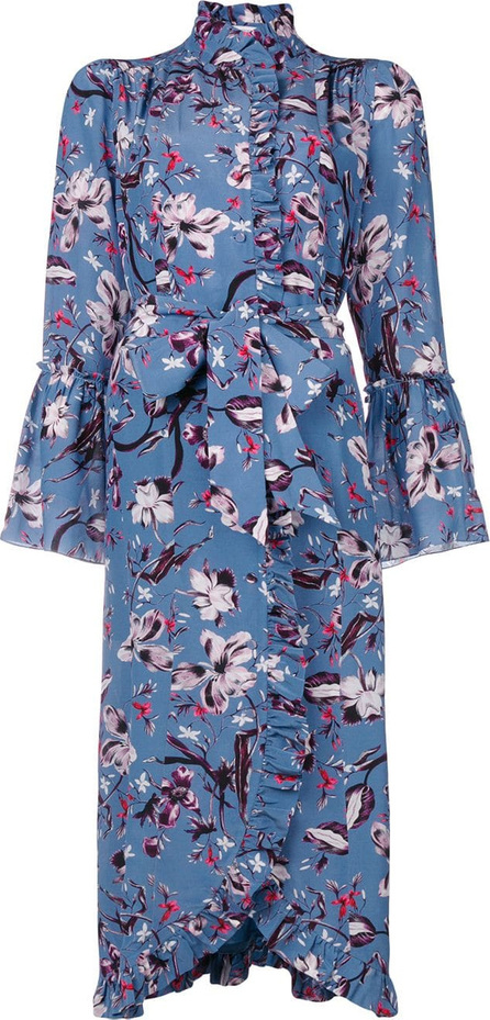 Erdem Floral print wrap dress