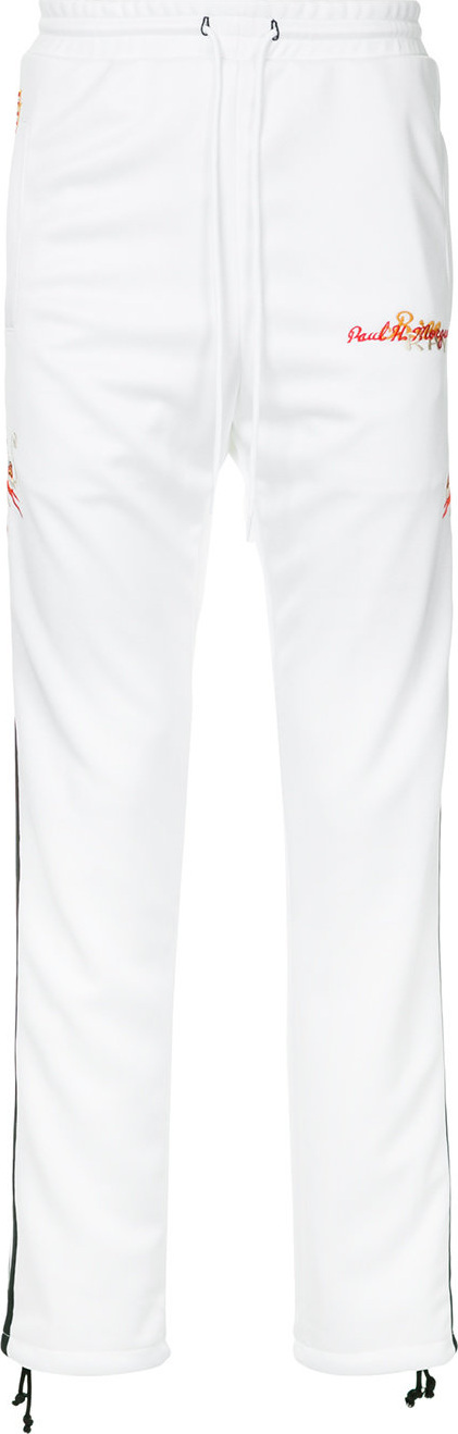 Doublet Side embroidered track trousers