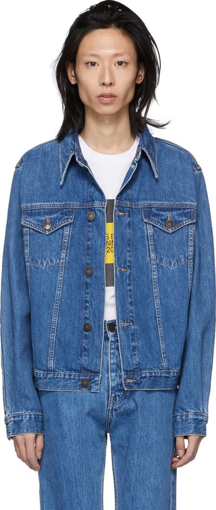 Calvin Klein Jeans Blue Denim Trucker Jacket
