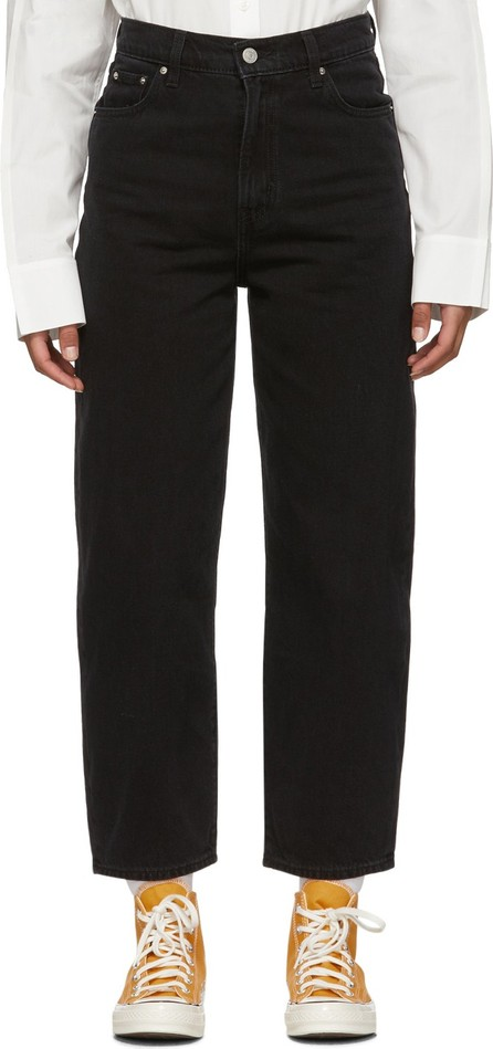 LEVI'S Black Balloon Leg Jeans