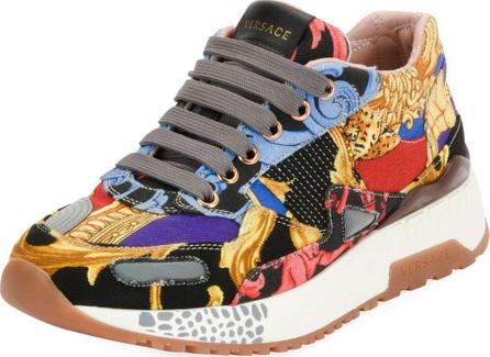 Versace Jogger Pillow Talk Patchwork Sneaker