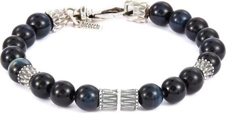 Emanuele Bicocchi Bead silver charm bracelet