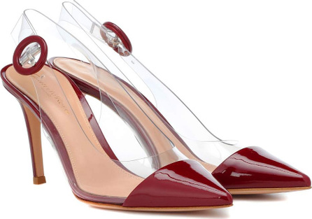 Gianvito Rossi Alice slingback patent leather pumps