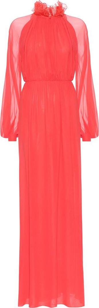 Giambattista Valli Silk georgette gown