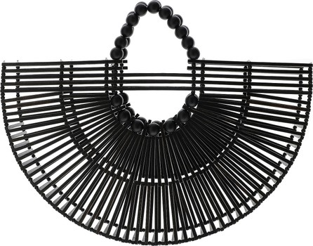 Cult Gaia Black Fan Ark Bag