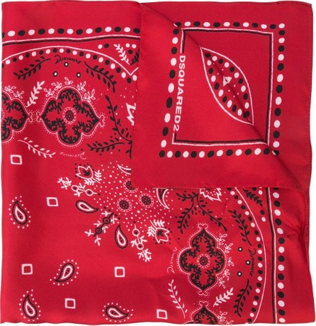 DSQUARED2 Paisley scarf
